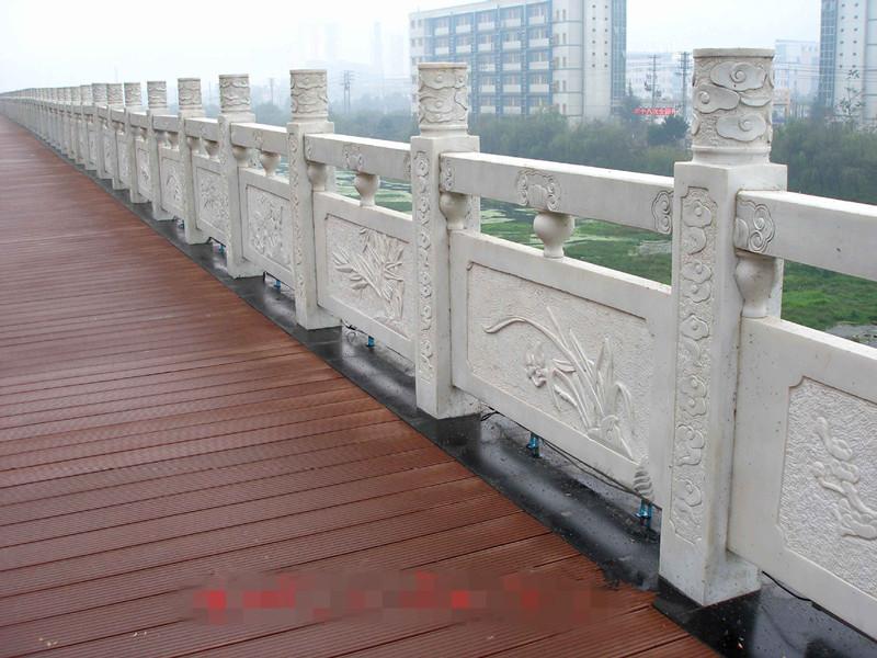 橋面石欄桿