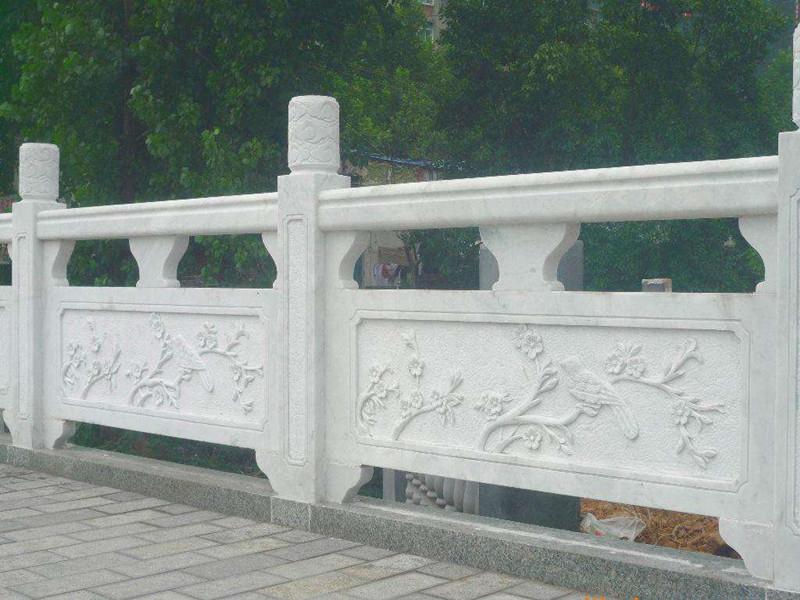 石雕圍墻欄桿圖片