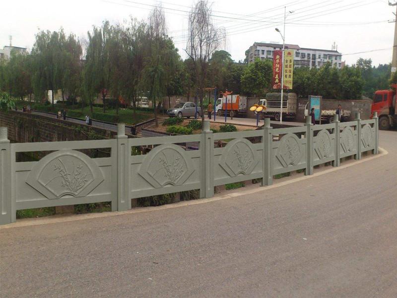 橋梁石欄桿圖片