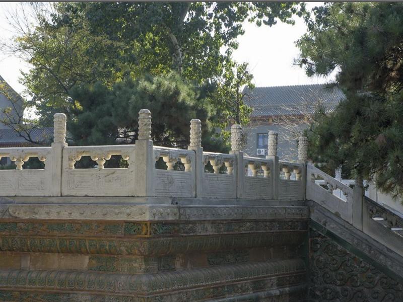 古建筑欄桿