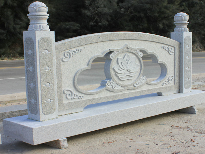 花崗巖石雕欄桿