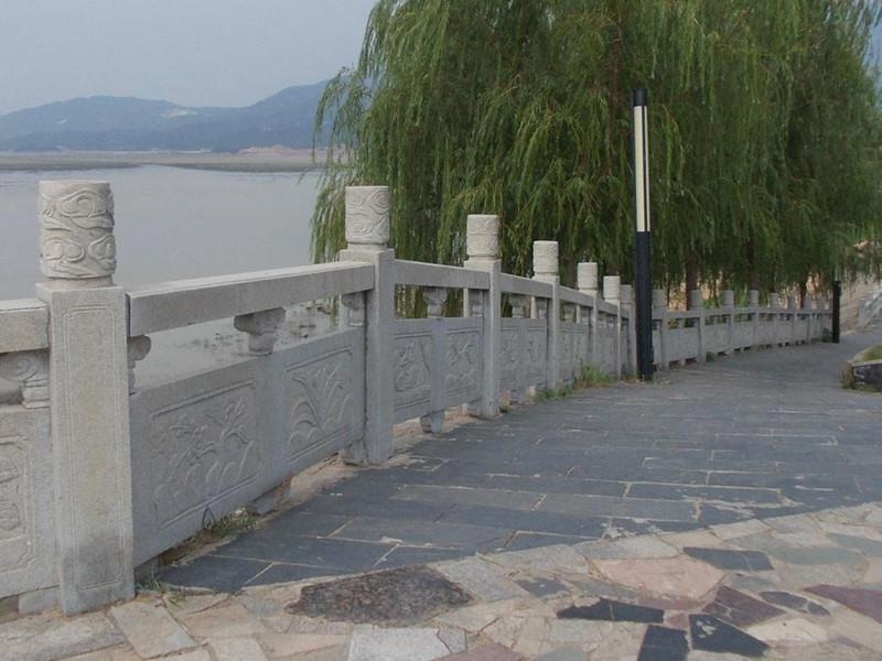 石雕欄桿圖片